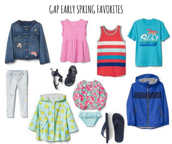 Gap Early Spring Favorites