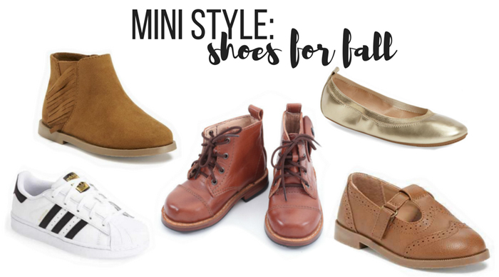Mini Style: shoes for fall