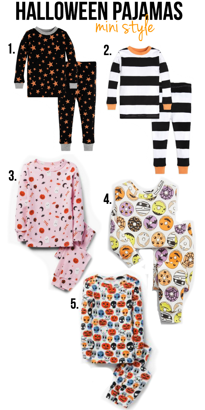 MINI STYLE: HALLOWEEN PAJAMAS